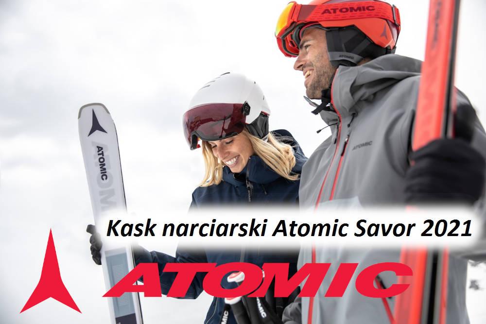 Kask narciarski Atomic Savor - modele 2021