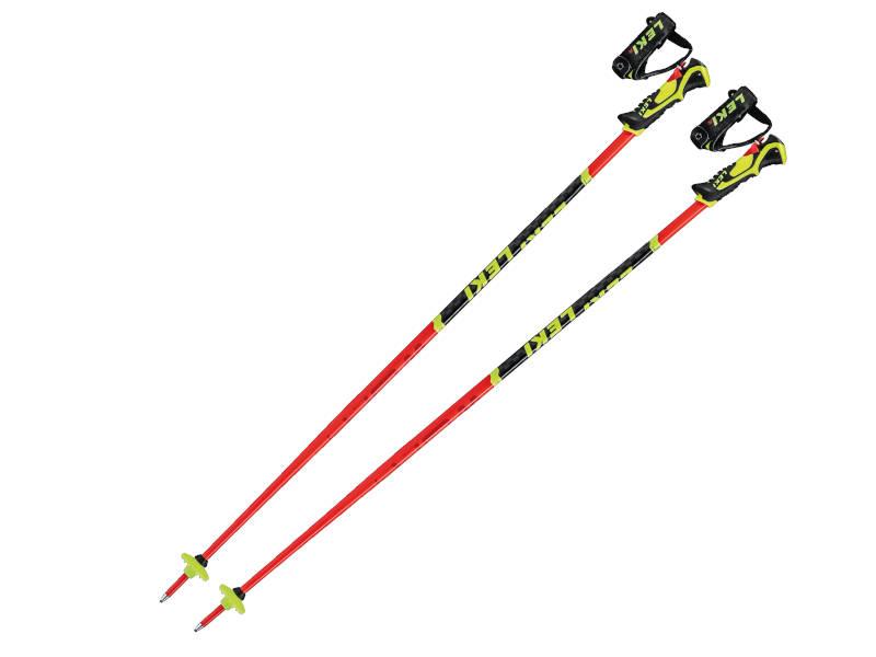Kijki narciarskie LEKI Worldcup WCR Lite SL 3D Red 2021