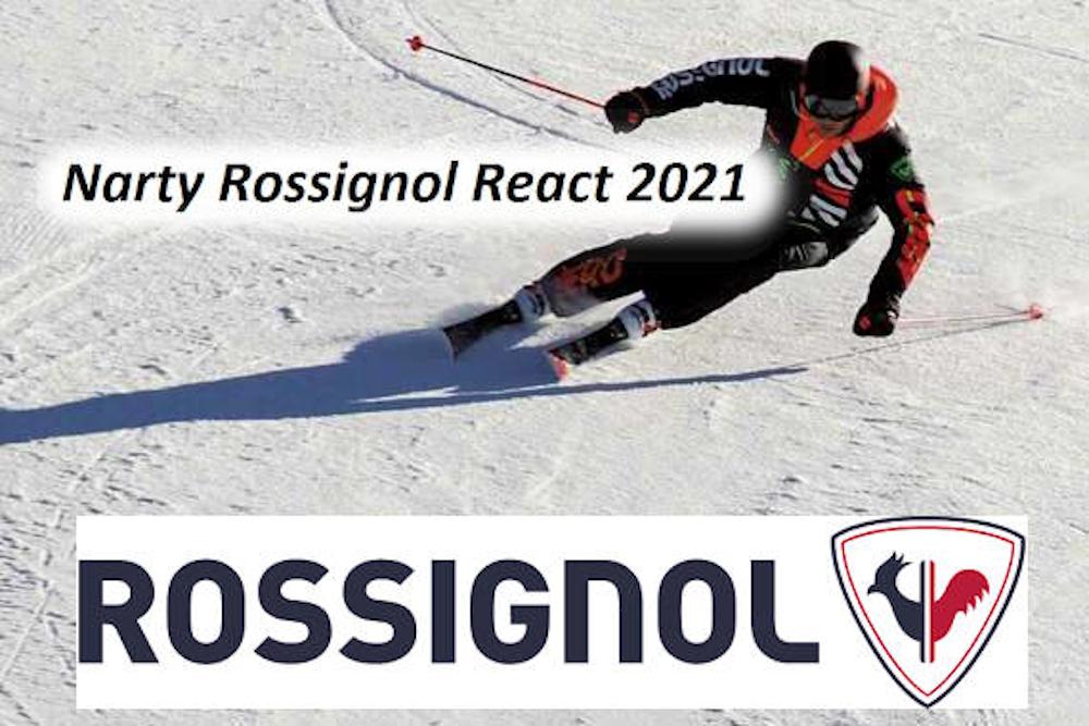Narty Rossignol React 2021 - Ty decydujesz o rytmie