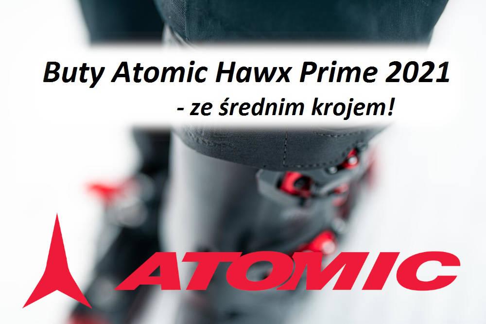 Buty Atomic Hawx Prime 2021 - ze średnim krojem