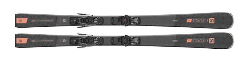 Salomon S/FORCE W 7 + wiązania M10 GW L80 2021  - Wybieramy narty dla kobiet