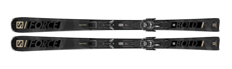 Narty Salomon S/Force Bold + Wiązania Z12 GW F90 G 2021