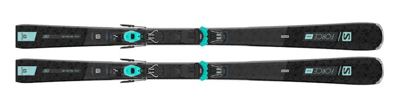 Wybieramy narty dla kobiet - Narty Salomon S/FORCE W 7 + wiązania M10 GW L80 2021