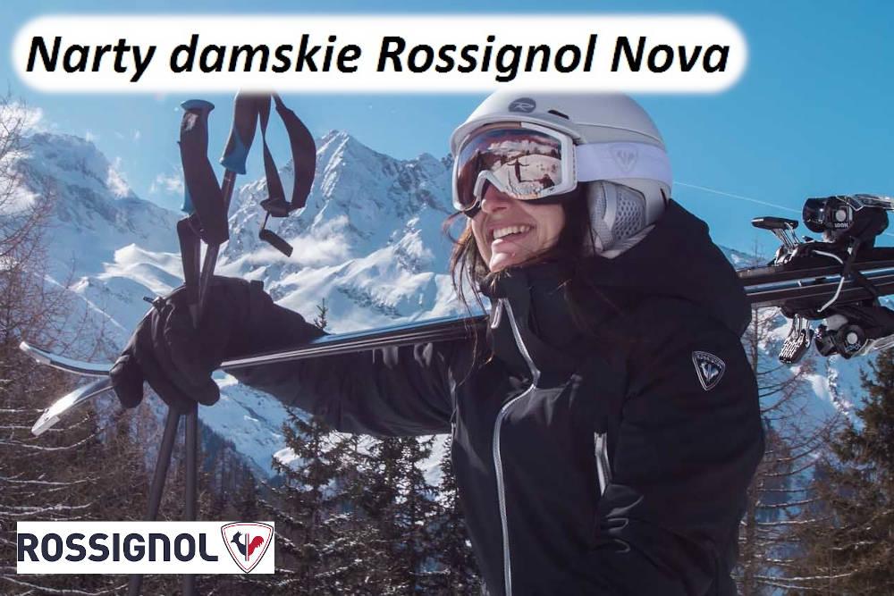 Narty damskie Rossignol Nova - na sezon 2021