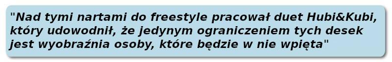 Narty Freestyle Majesty 2021