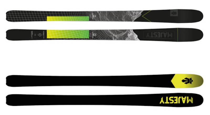 Narty skiturowe Majesty Superscout Carbon + Foki 2021