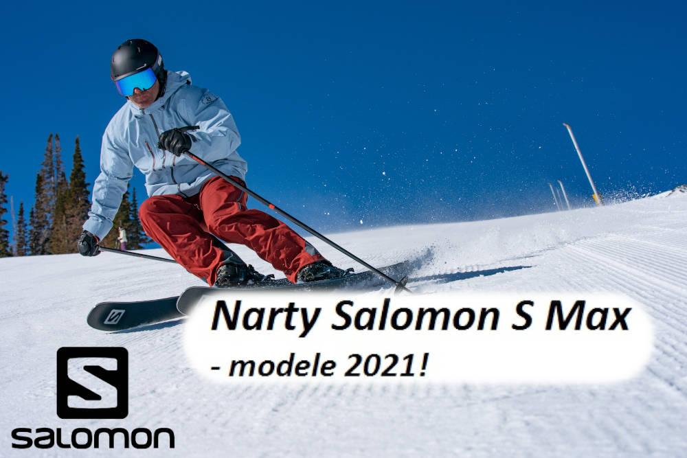 Narty Salomon S Max - modele 2021