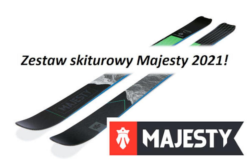 Zestaw skiturowy Majesty 2021