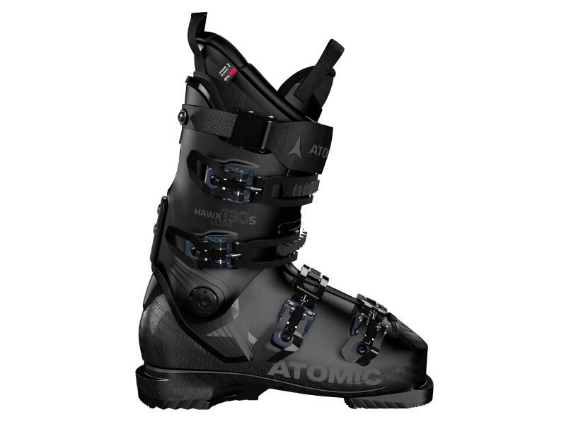 Atomic HAWX ULTRA 130 S Black/Gunmetal 2021 - Buty narciarskie z twardym flexem