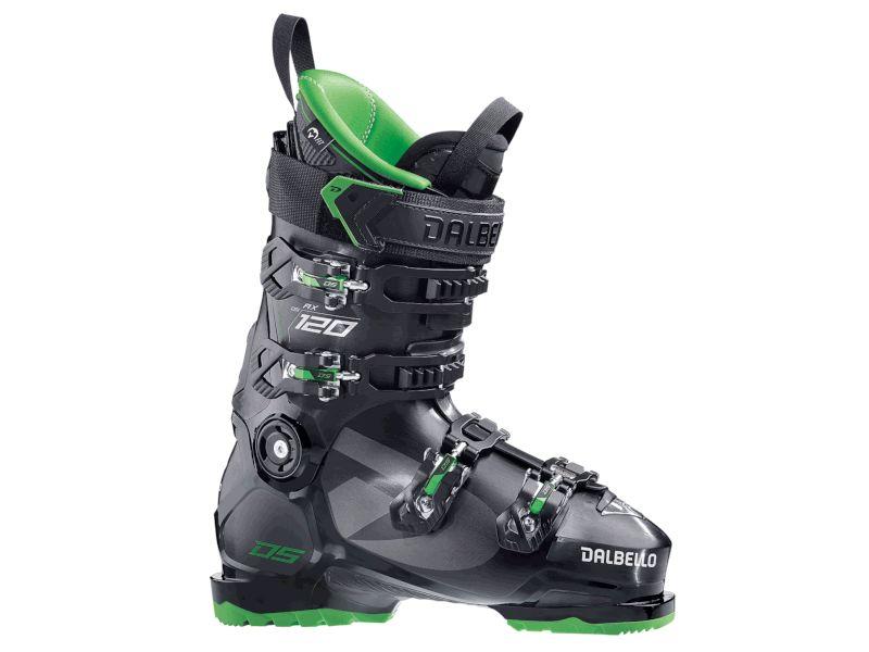 Dalbello DS AX 120 Black / Green 2021 - Buty narciarskie z twardym flexem