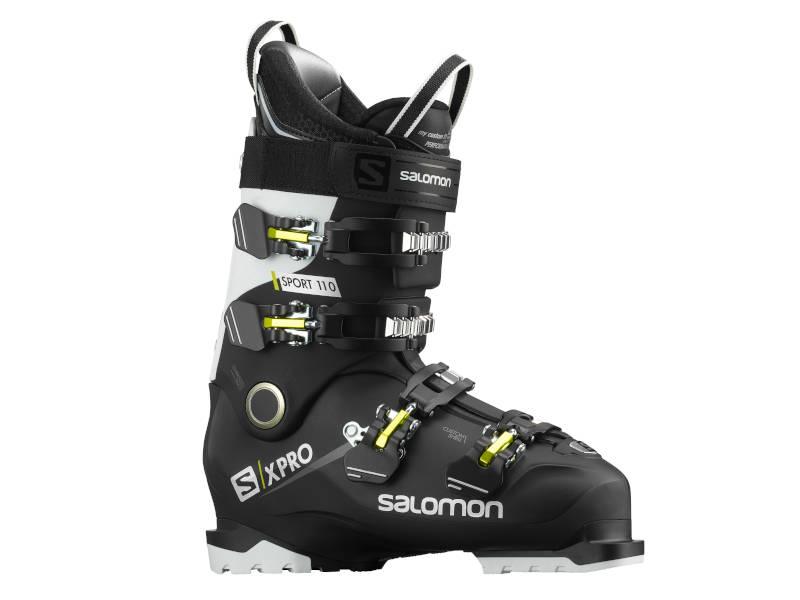 Flex w butach narciarskich Buty SALOMON X Pro 110 Sport Black Anthracite White SMU 2021