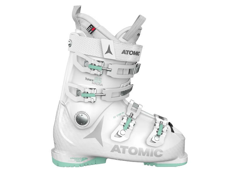 Jak wybrać buty narciarskie dla kobiet? Buty Atomic HAWX MAGNA 85 W White Mint 2021