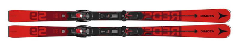 Narty czerwone Atomic Redster S9 2021