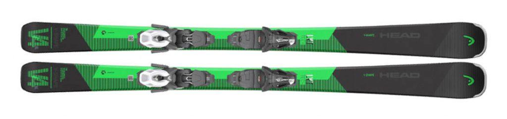 Narty zielone Narty HEAD V-Shape V4 XL 2021