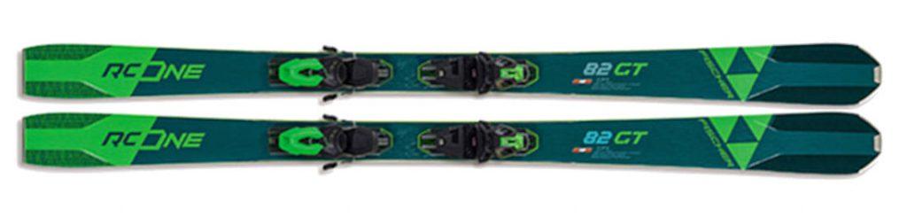 Narty zielone Fischer RC One 73 Allride 2021