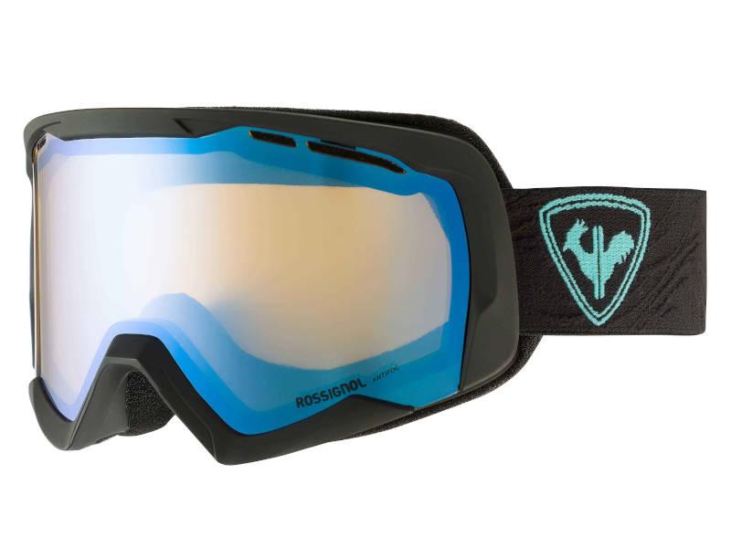 Gogle narciarskie na okulary korekcyjne Rossignol Spiral Miror W Black 2021