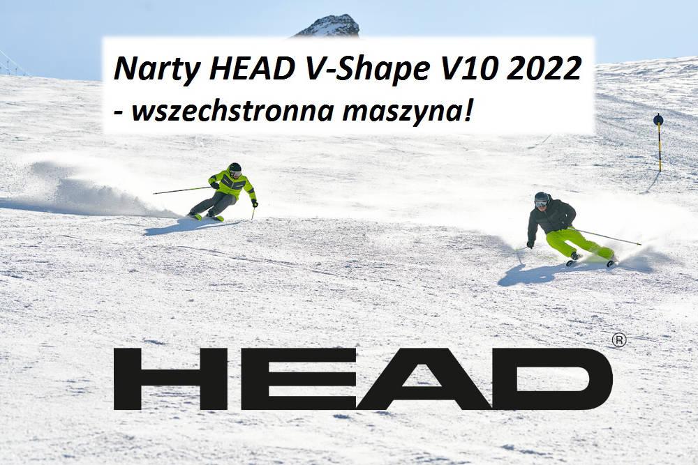 Narty HEAD V-Shape V10 2022