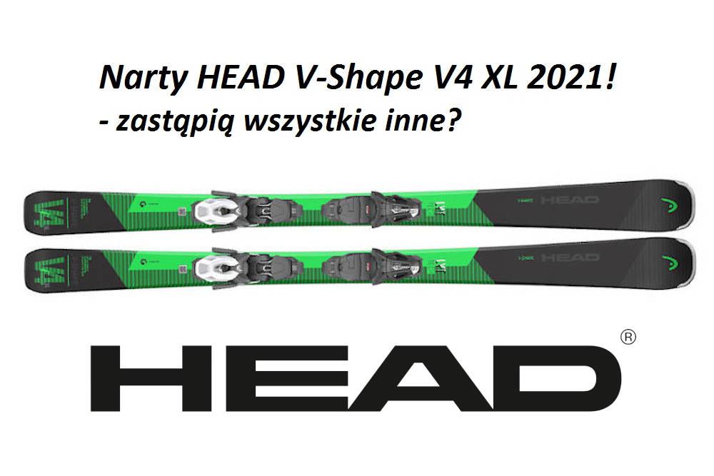 Narty HEAD V-Shape V4 XL 2021