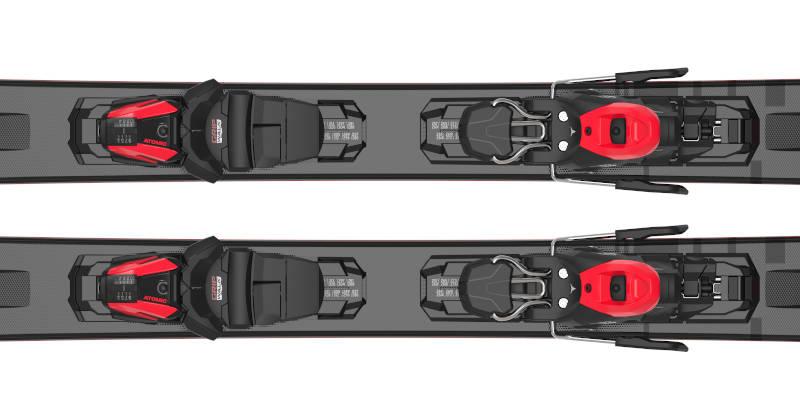 Wiązania M 10 GW Black Grey Red 2022