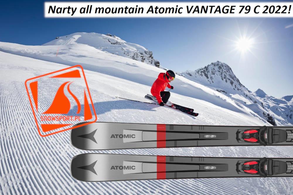 Narty all mountain Atomic VANTAGE 79 C 2022